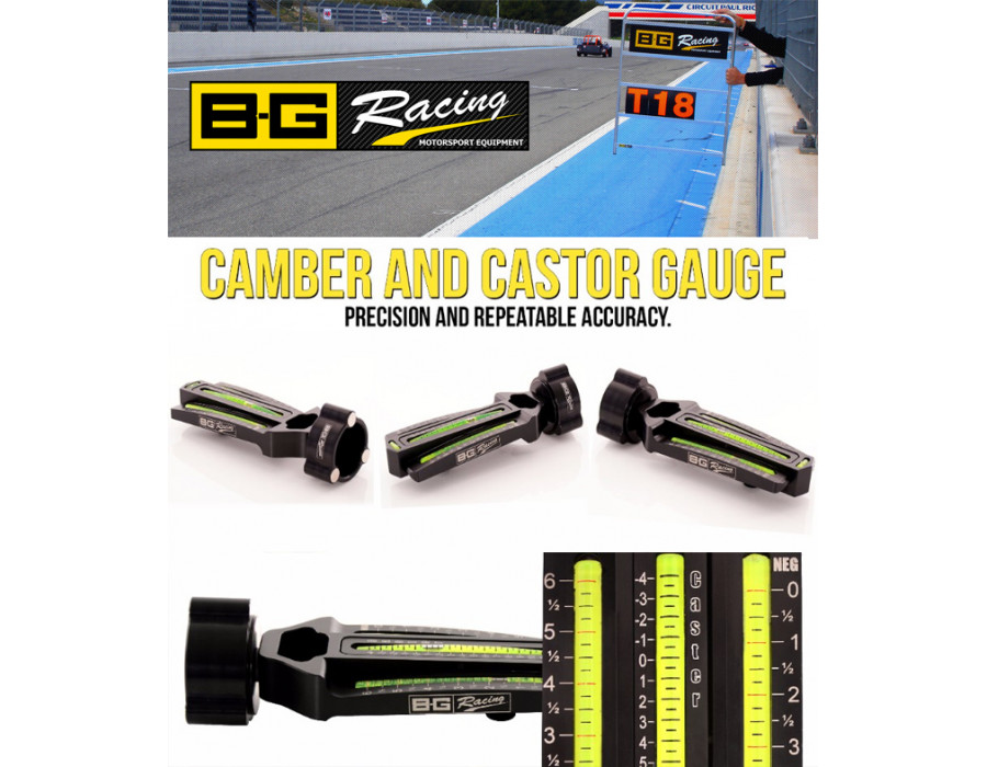 Camber and Castor Bubble Gauge