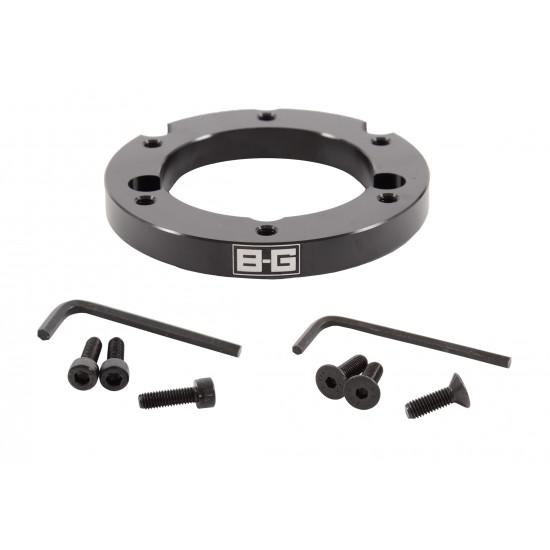 B-G Racing - 15mm Eccentric Steering Wheel Spacer 6x70mm PCD