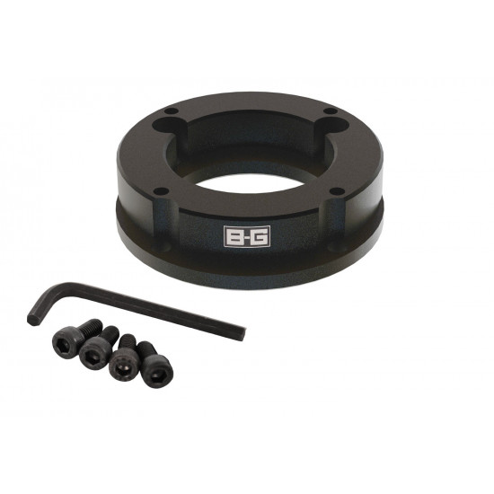 B-G Racing - 20mm Eccentric Steering Wheel Spacer for Lotus 4x77mm PCD