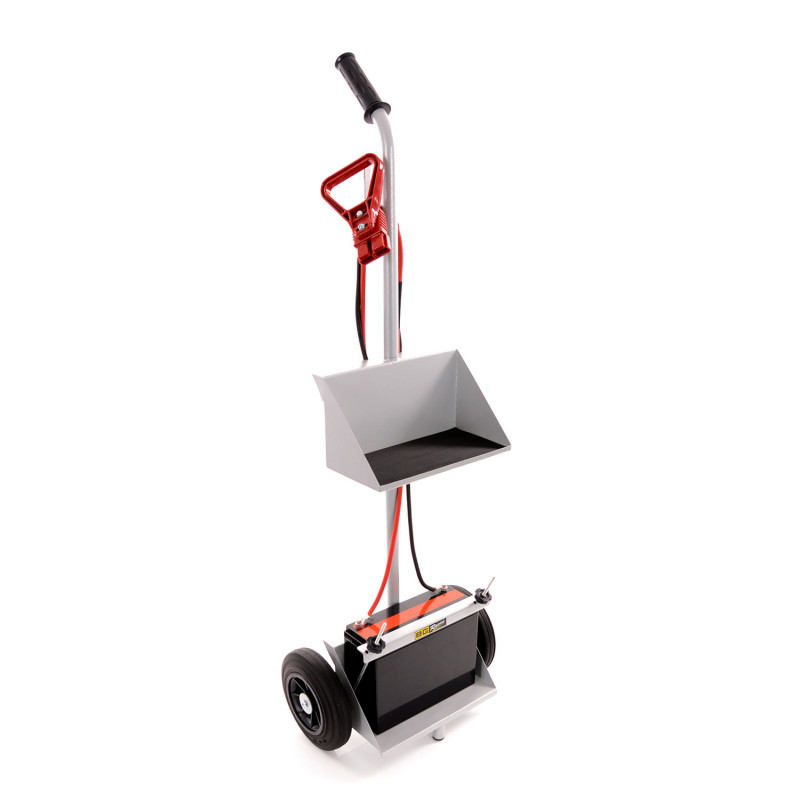 B-G Racing - Battery Trolley double tray - Powder Coated