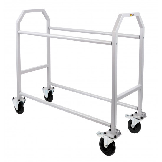 B-G Racing - Wheel and Tyre Trolley - Powder Coated