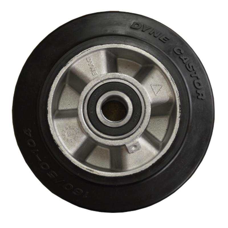 B-G Racing - 160mm Aluminium Wheel with Rubber Tread