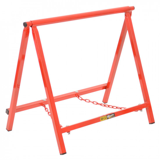 """B-G Racing - Chassis Stands - Large 18"""" - Powder Coated (Red)"""