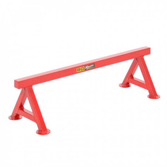 """B-G Racing - Chassis Stands - Small 6"""" - Powder Coated (Red)"""