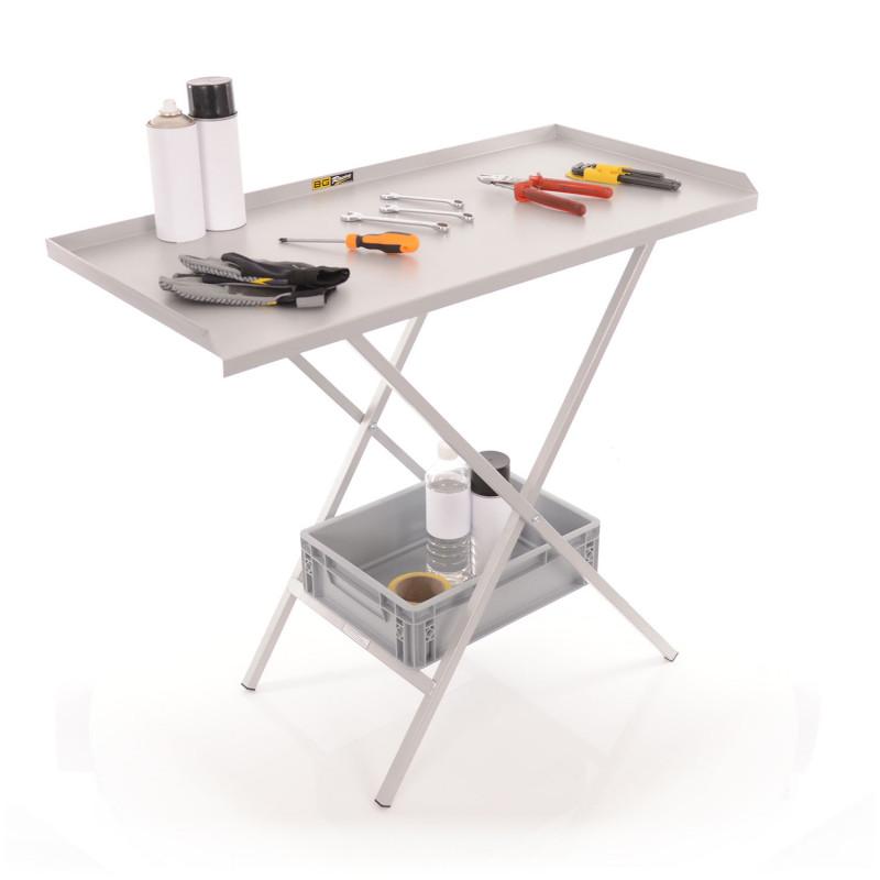 B-G Racing - Folding Paddock Table - Powder Coated