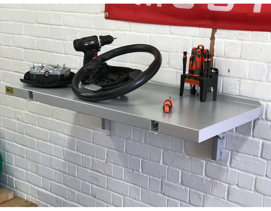 B-G Racing Folding Wall Mounted Table