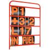 B-G Racing - Standard Red Aluminium Pit Board