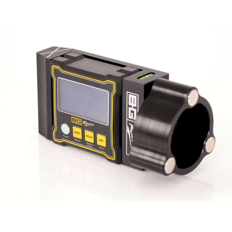B-G Racing - Billet Digital Camber/Castor Gauge with Magnetic Adaptor