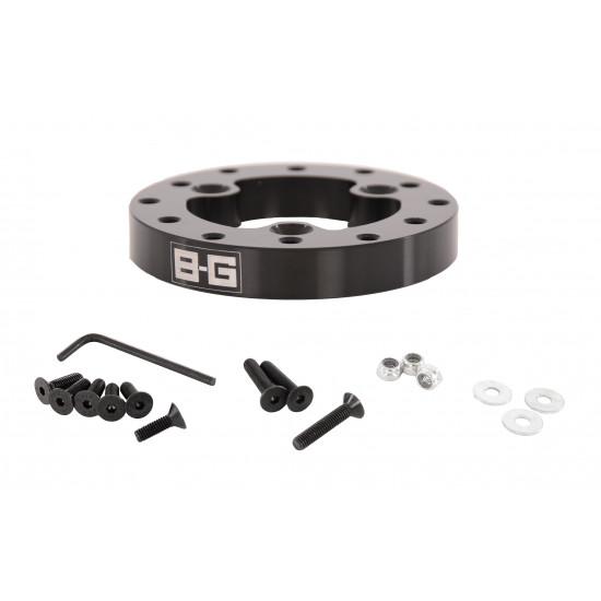 B-G Racing - 12.7mm Steering Wheel Adaptor- 3 to 6 Point