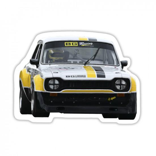 B-G Racing MK1 Ford Escort Sticker